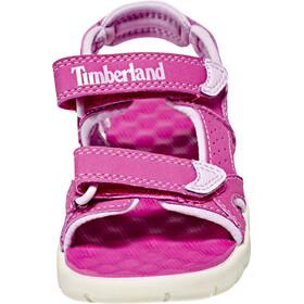 Timberland Perkins Row Sandalias de 2 correas Niños, medium pink